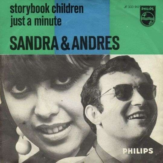 Coverafbeelding Sandra & Andres / Billy Vera & Judy Clay / Nancy & Lee - Storybook Children