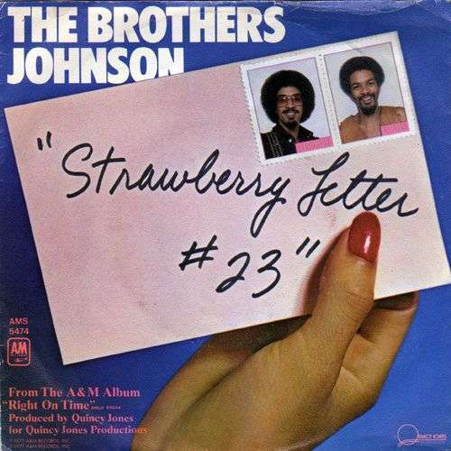 Coverafbeelding Strawberry Letter #23 - The Brothers Johnson