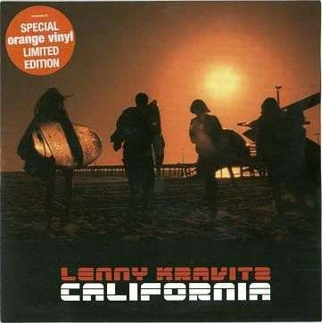 Coverafbeelding California - Lenny Kravitz