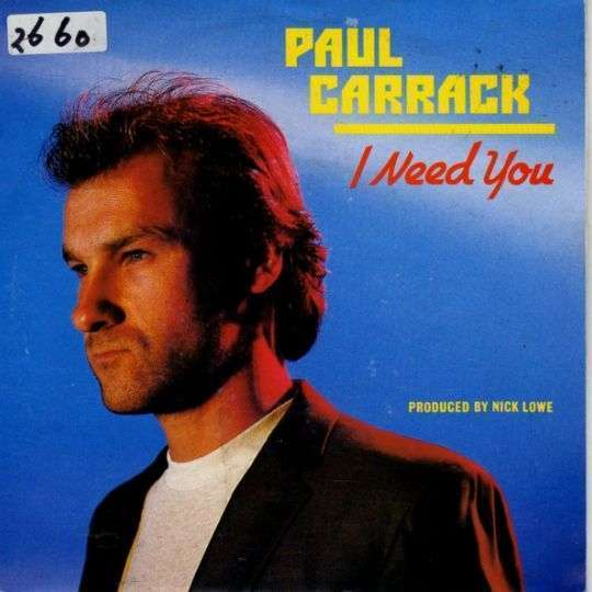 Coverafbeelding Paul Carrack - I Need You