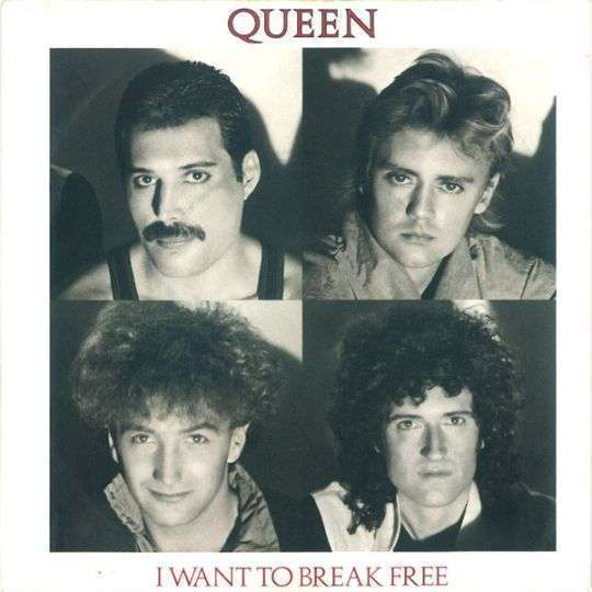 Coverafbeelding Queen - I Want To Break Free