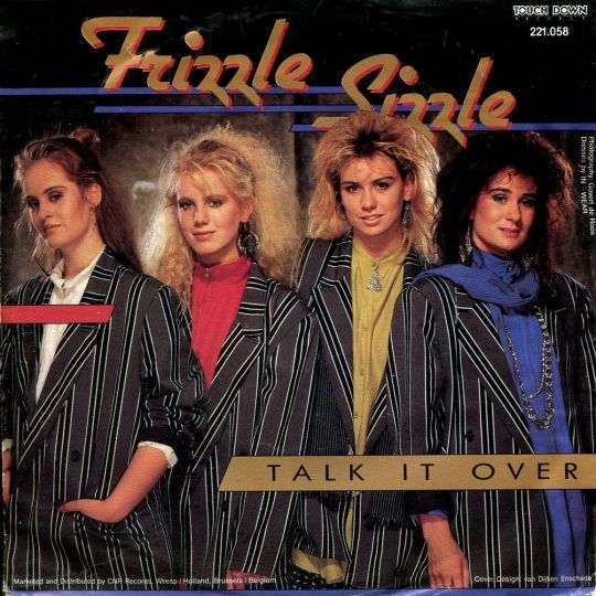 Coverafbeelding Talk It Over - Frizzle Sizzle