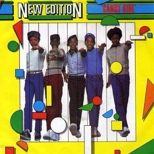 Coverafbeelding New Edition - Candy Girl