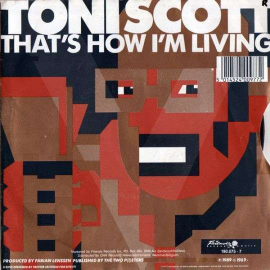 Coverafbeelding That's How I'm Living - Toni Scott