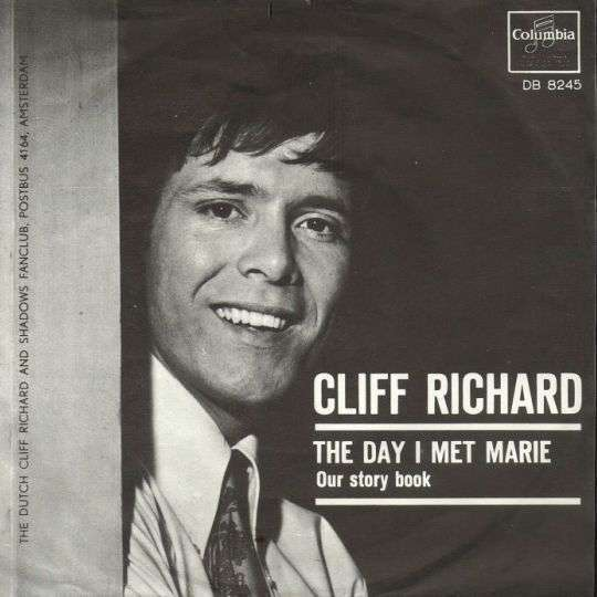 Coverafbeelding The Day I Met Marie - Cliff Richard