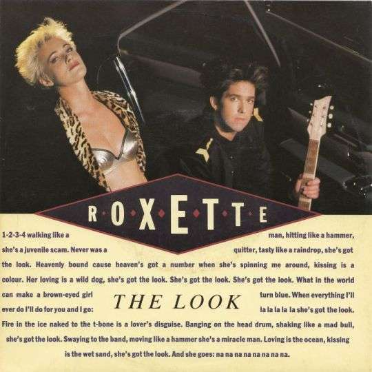 Coverafbeelding The Look - Roxette