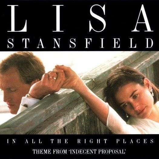Coverafbeelding In All The Right Places - Theme From 'indecent Proposal' - Lisa Stansfield