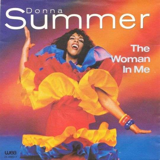 Coverafbeelding Donna Summer - The Woman In Me