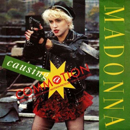 Coverafbeelding Causing A Commotion - Madonna