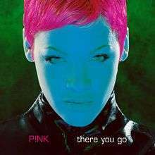 Coverafbeelding There You Go - P!nk