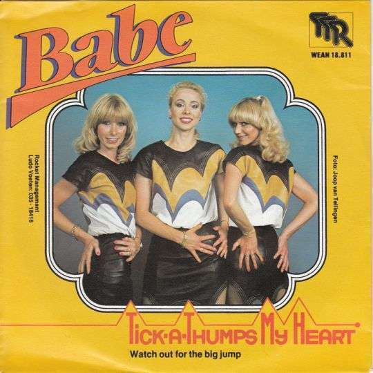 Coverafbeelding Tick-A-Thumps My Heart - Babe