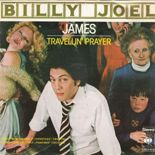 Coverafbeelding James - Billy Joel