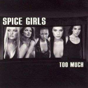 Coverafbeelding Too Much - Spice Girls