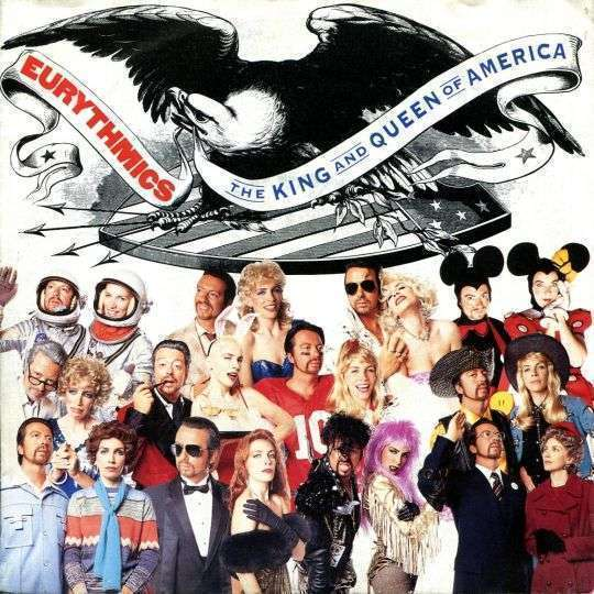 Coverafbeelding Eurythmics - The King And Queen Of America