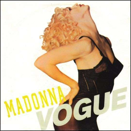 Coverafbeelding Vogue - Madonna