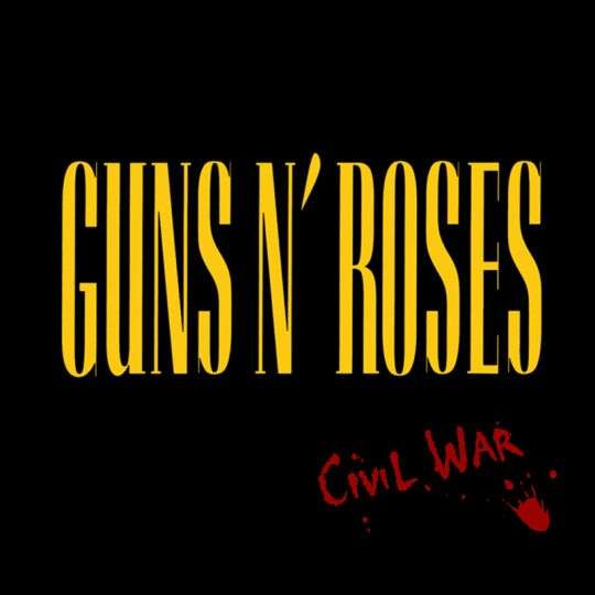 Coverafbeelding Civil War - Guns N' Roses