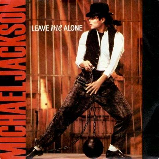 Coverafbeelding Leave Me Alone - Michael Jackson