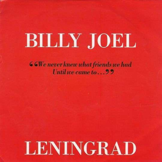 Coverafbeelding Leningrad - Billy Joel
