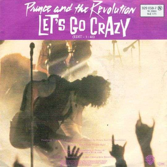 Coverafbeelding Let's Go Crazy - Prince And The Revolution