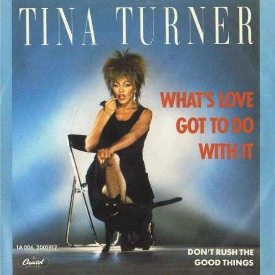 Coverafbeelding What's Love Got To Do With It - Tina Turner