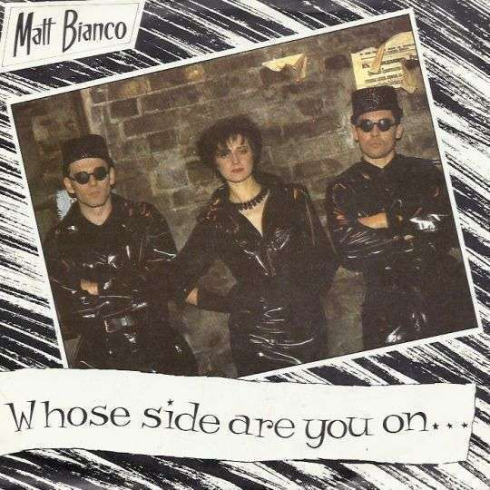 Coverafbeelding Whose Side Are You On... - Matt Bianco