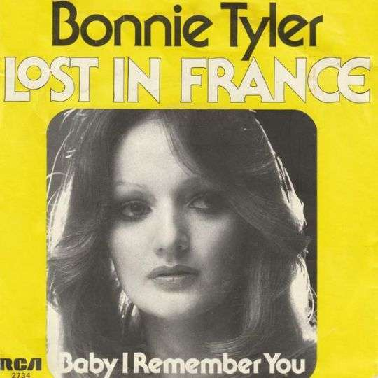 Coverafbeelding Lost In France - Bonnie Tyler