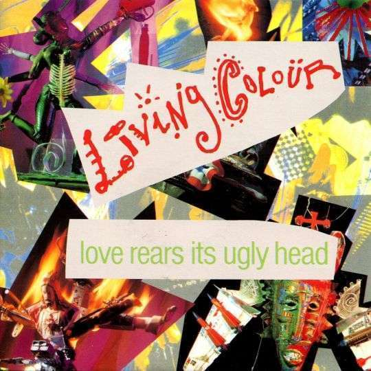 Coverafbeelding Love Rears Its Ugly Head - Living Colour