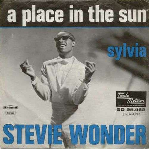 Coverafbeelding A Place In The Sun - Stevie Wonder