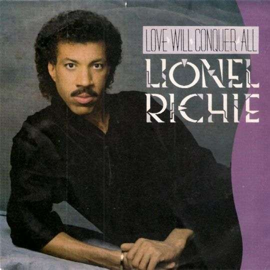 Coverafbeelding Love Will Conquer All - Lionel Richie