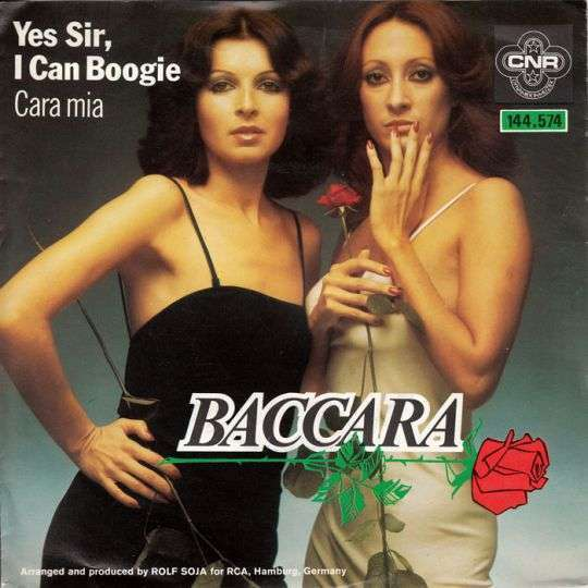 Coverafbeelding Yes Sir, I Can Boogie - Baccara