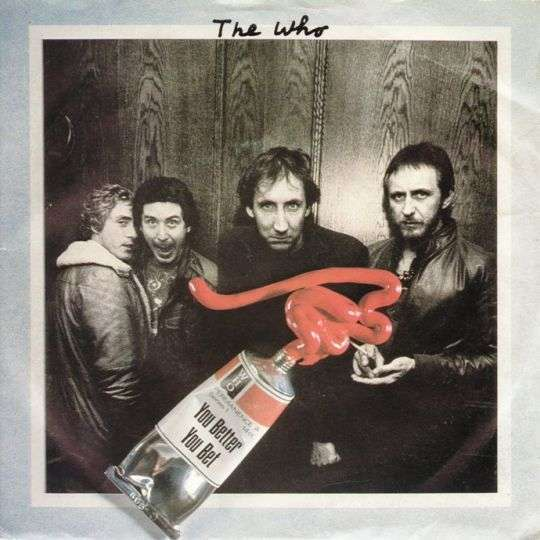 Coverafbeelding The Who - You Better You Bet
