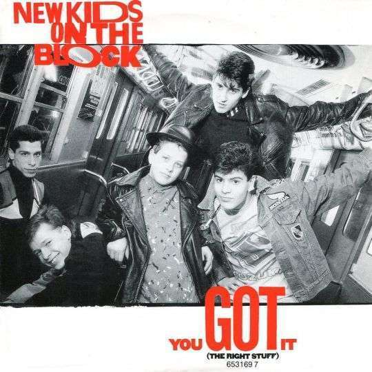 Coverafbeelding You Got It (The Right Stuff) - New Kids On The Block