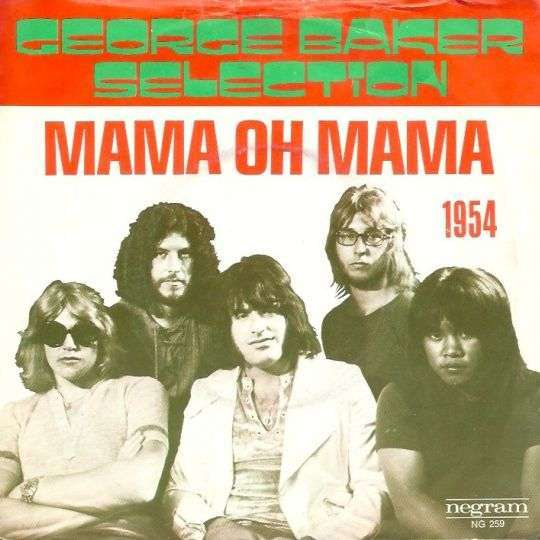 Coverafbeelding Mama Oh Mama - George Baker Selection