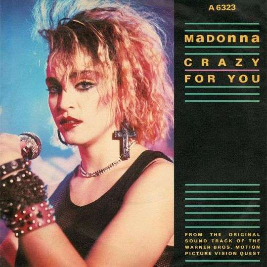 Coverafbeelding Crazy For You - Madonna