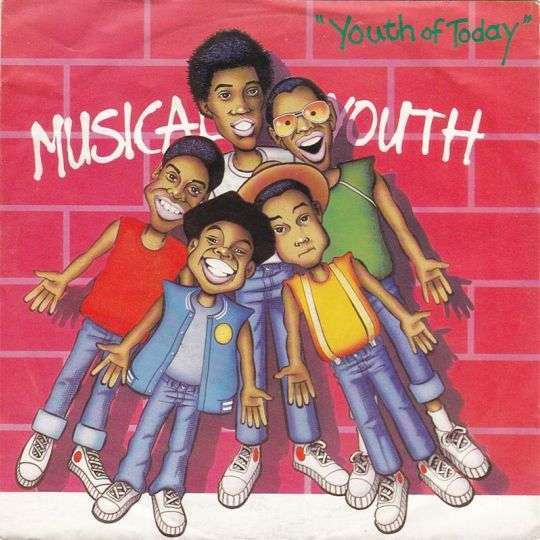 Coverafbeelding Musical Youth - Youth Of Today