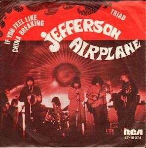 Coverafbeelding If You Feel Like China Breaking - Jefferson Airplane