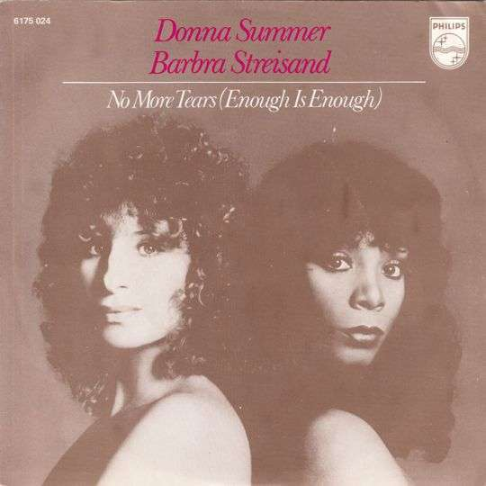 Coverafbeelding No More Tears (Enough Is Enough) - Barbra Streisand & Donna Summer