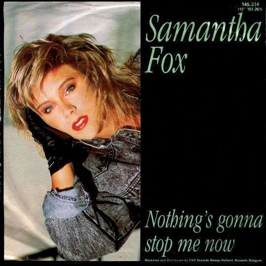 Coverafbeelding Nothing's Gonna Stop Me Now - Samantha Fox