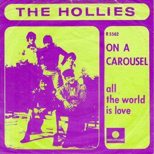 Coverafbeelding On A Carousel - The Hollies