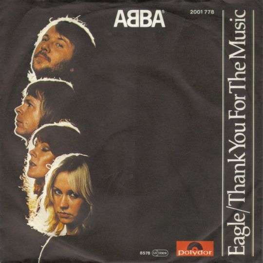 Coverafbeelding Eagle/ Thank You For The Music - Abba