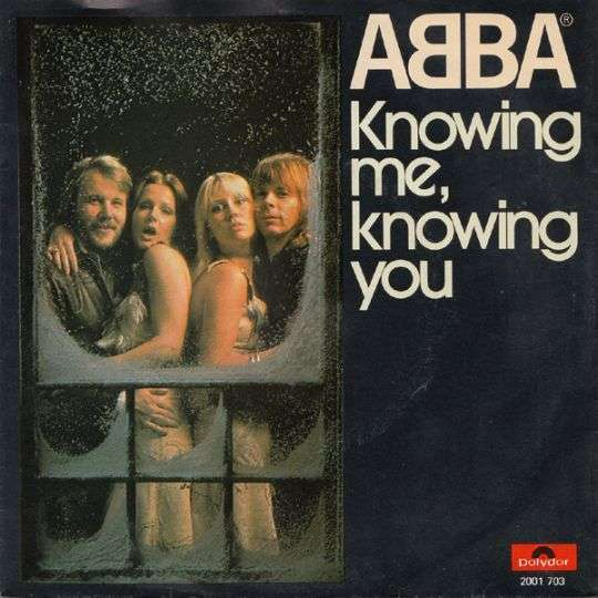 Coverafbeelding Knowing Me, Knowing You - Abba