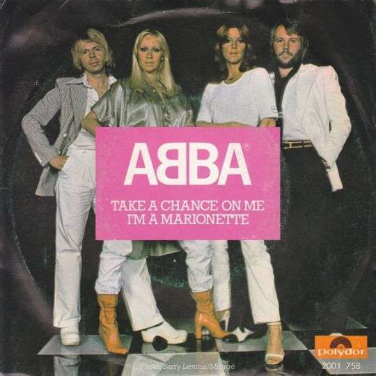 Coverafbeelding Take A Chance On Me - Abba
