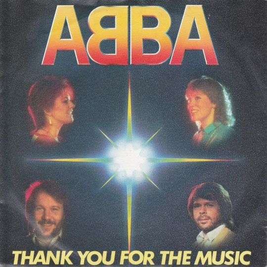 Coverafbeelding Thank You For The Music - Abba