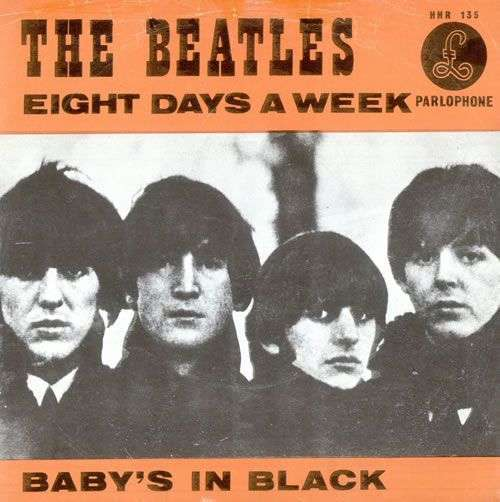 Coverafbeelding Eight Days A Week/ Baby's In Black - The Beatles