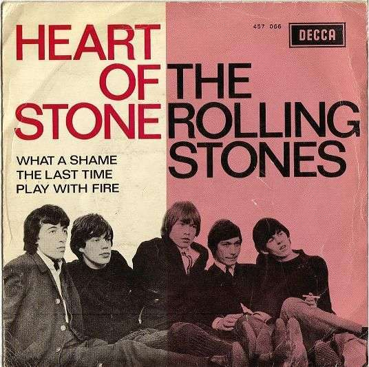 Coverafbeelding Heart Of Stone [Ep] - The Rolling Stones