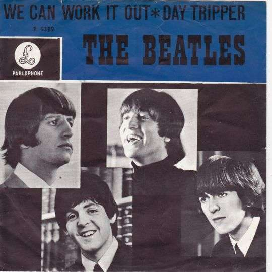 Coverafbeelding We Can Work It Out/ Day Tripper - The Beatles