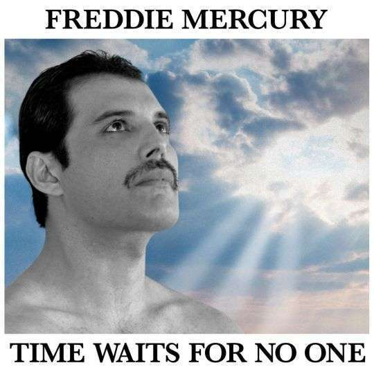 Coverafbeelding Time Waits For No One - Freddie Mercury