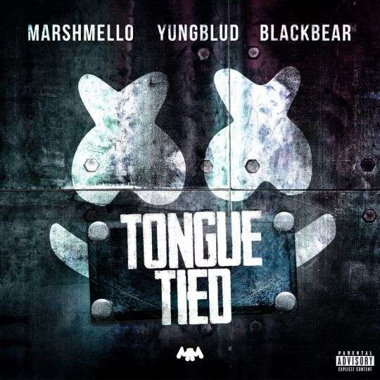 Coverafbeelding Tongue Tied - Marshmello & Yungblud & Blackbear
