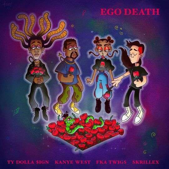 Coverafbeelding Ego Death - Ty Dolla $Ign & Kanye West & Fka Twigs & Skrillex