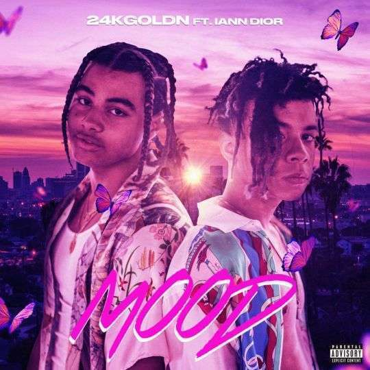 Coverafbeelding Mood - 24Kgoldn Ft. Iann Dior